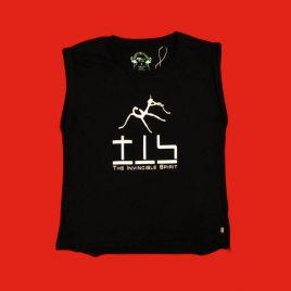 Girlie Shirt schwarz / black ( S – M )